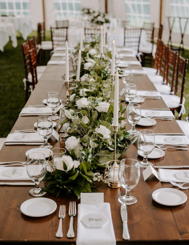 Cape Cod wedding table inspiration | Boston wedding photographer