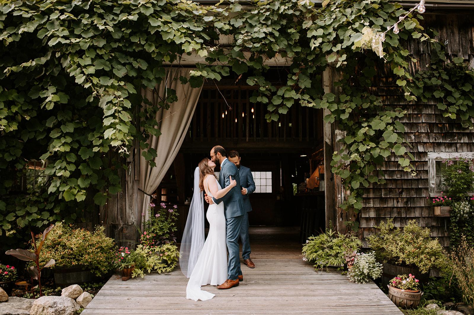Elegant Maine wedding
